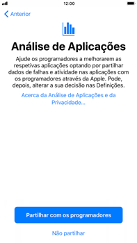 Apple iPhone 7 Plus iOS 11 - Primeiros passos - Como ligar o telemóvel pela primeira vez -  23