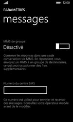 Nokia Lumia 530 - SMS - Configuration manuelle - Étape 6