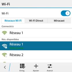 BlackBerry Classic - WiFi et Bluetooth - Configuration manuelle - Étape 9