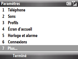 HTC S521 Snap - MMS - Configuration manuelle - Étape 11