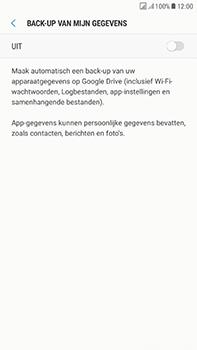 Samsung Galaxy J7 (2017) - Device maintenance - Back up - Stap 9