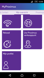 Sony Xperia M5 - Applicaties - MyProximus - Stap 19