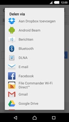 Sony Xperia M4 Aqua (E2303) - Internet - Hoe te internetten - Stap 18