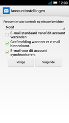 Alcatel OT-5036X Pop C5 - E-mail - Account instellen (POP3 zonder SMTP-verificatie) - Stap 16