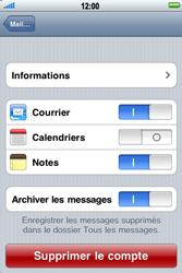 Apple iPhone 3G S - E-mail - Configuration manuelle - Étape 11