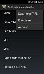 Acer Liquid Z200 - Mms - Configuration manuelle - Étape 15