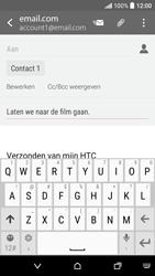 HTC Desire 530 - E-mail - Hoe te versturen - Stap 9