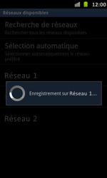 Samsung I9070 Galaxy S Advance - Réseau - Utilisation à l