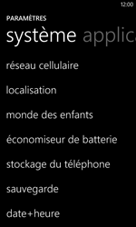 Nokia Lumia 620 - Internet - activer ou désactiver - Étape 4