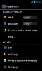 Bouygues Telecom Bs 401 - Internet et connexion - Désactiver la connexion Internet - Étape 4