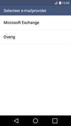 LG K4 - E-mail - Account instellen (IMAP met SMTP-verificatie) - Stap 5