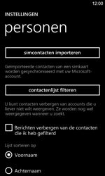 Nokia Lumia 925 - Contacten en data - Contacten kopiëren van SIM naar toestel - Stap 6