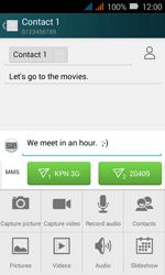 Huawei Y3 - MMS - Sending pictures - Step 11