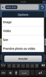 Samsung S8600 Wave 3 - MMS - envoi d'images - Étape 9