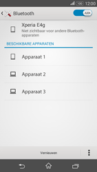 Sony E2003 Xperia E4G - Bluetooth - koppelen met ander apparaat - Stap 8
