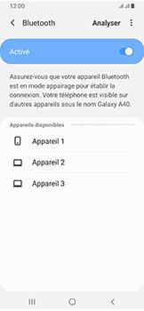 Samsung Galaxy A40 - Bluetooth - connexion Bluetooth - Étape 9