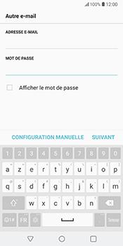 LG V30 - E-mail - Configuration manuelle - Étape 8