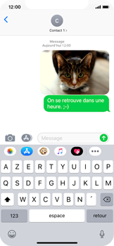 Apple iPhone X - iOS 12 - MMS - envoi d'images - Étape 13