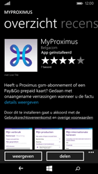 Microsoft Lumia 535 - Applicaties - MyProximus - Stap 9