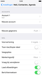 Apple iPhone 6 iOS 9 - E-mail - Account instellen (IMAP met SMTP-verificatie) - Stap 16