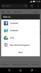 HTC One M8s (Model 0PKV100) - Internet - Hoe te internetten - Stap 20