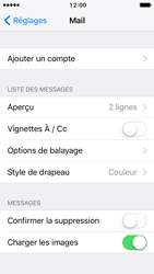 Apple iPhone SE - iOS 10 - E-mail - Configuration manuelle - Étape 5