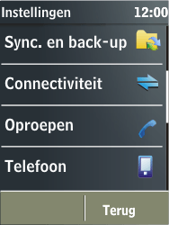 Nokia X3-02 - Netwerk - gebruik in het buitenland - Stap 7