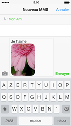Apple iPhone 5s - Contact, Appels, SMS/MMS - Envoyer un MMS - Étape 13