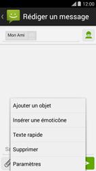 Bouygues Telecom Ultym 5 II - Contact, Appels, SMS/MMS - Envoyer un MMS - Étape 9