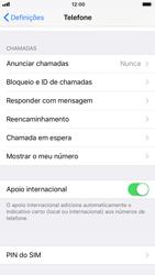 Apple iPhone 8 - Segurança - Como ativar o código PIN do cartão de telemóvel -  4