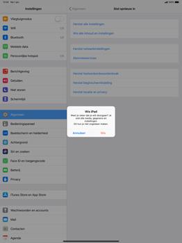 Apple ipad-pro-12-9-inch-2018-model-a1895 - Instellingen aanpassen - Fabrieksinstellingen terugzetten - Stap 7