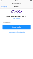 Apple iPhone 7 iOS 11 - E-mail - Configurar Yahoo! - Paso 7