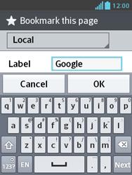 LG E430 Optimus L3 II - Internet - Internet browsing - Step 7
