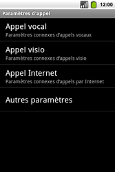Alcatel OT-991 Smart - Messagerie vocale - Configuration manuelle - Étape 5
