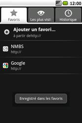 Samsung I5700 Galaxy Spica - Internet - Navigation sur Internet - Étape 16
