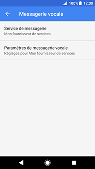 Sony Xperia XA2 Ultra - Messagerie vocale - configuration manuelle - Étape 9