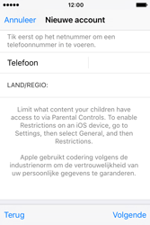 Apple iPhone 4S (iOS 9) - apps - account instellen - stap 24