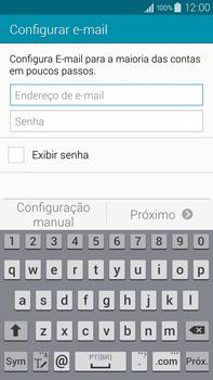 Samsung N910F Galaxy Note 4 - Email - Como configurar seu celular para receber e enviar e-mails - Etapa 5