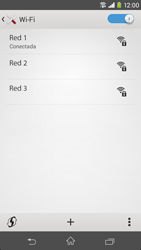 Sony Xperia M2 - WiFi - Conectarse a una red WiFi - Paso 8