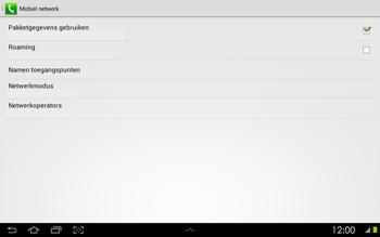 Samsung P5100 Galaxy Tab 2 10-1 - Netwerk - gebruik in het buitenland - Stap 11