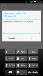 Alcatel Pixi 3 - Segurança - Como ativar o código PIN do cartão de telemóvel -  7
