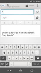 Sony Xperia E4g - E-mails - Envoyer un e-mail - Étape 5
