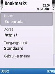 Nokia C5-00 - Internet - hoe te internetten - Stap 9