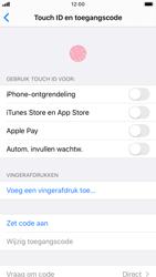 Apple iPhone 6s - iOS 13 - Beveiliging - stel in of wijzig pincode voor je toestel - Stap 4