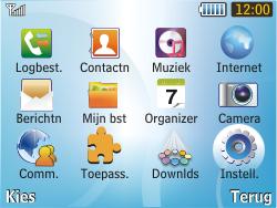 Samsung S3350 Chat 335 - Netwerk - gebruik in het buitenland - Stap 6