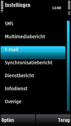 Nokia X6-00 - E-mail - e-mail instellen: POP3 - Stap 5