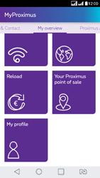 LG K8 - Applications - MyProximus - Step 21