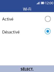 Nokia 8110 Banana - Wi-Fi - Se connecter à un réseau Wi-Fi - Étape 5