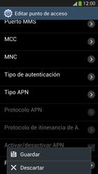 Samsung Galaxy S4 - Internet - Configurar Internet - Paso 14