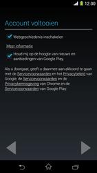 Sony Xperia Z1 4G (C6903) - Applicaties - Account aanmaken - Stap 17